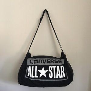 Converse canvas barrel bag
